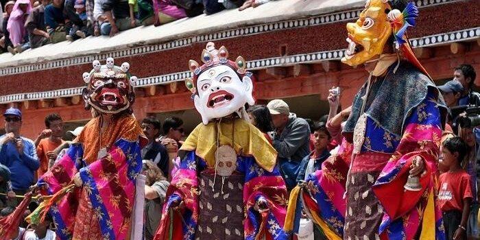 """Hemis Festivalen"" i Ladakh"