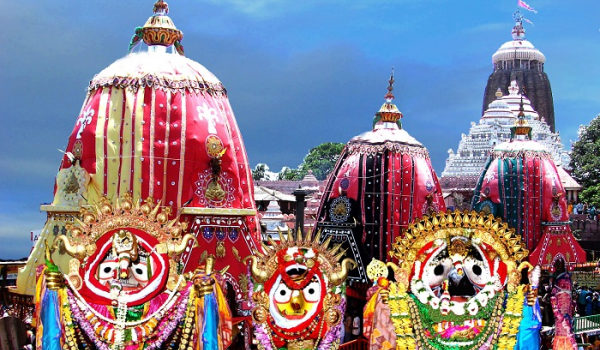 Puri Ratha Yatra Festivalen (lokalt kalt Ratha Yatra)